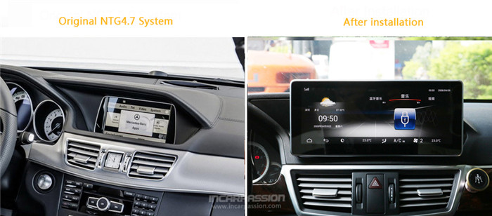 10 25'' Android GPS Navigation System for Mercedes E Class W212 / E