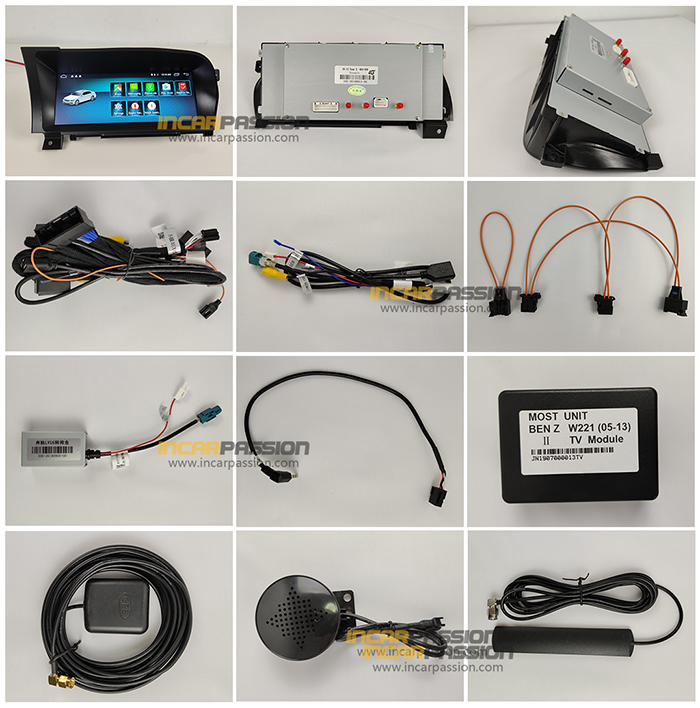10 25'' Android GPS Navigation System for Mercedes S Class W221