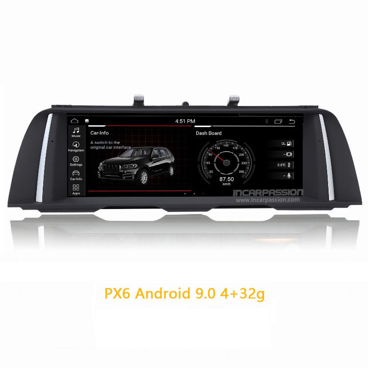 10 25'' Screen PX6 ID7 Android GPS Navigation for BMW 5