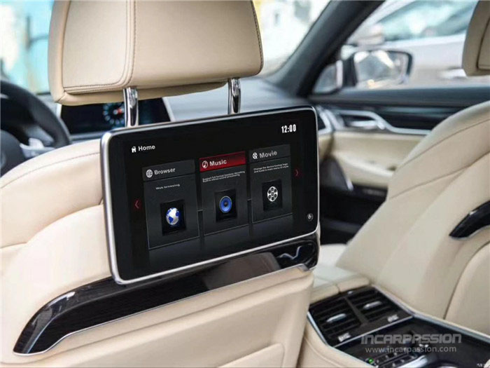 11 6'' Android Rear Seat Entertainment System Monitors for BMW 5 7