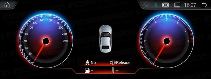 BMW PX3 Platform ID6 Android Navigation System Menu