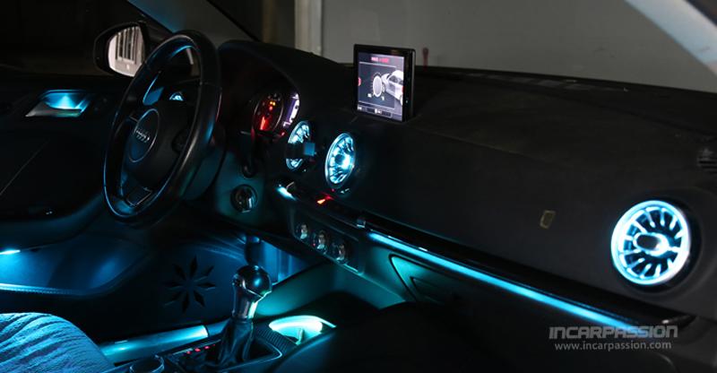Audi A3 32 Colors Ambient Light Led Air Vent