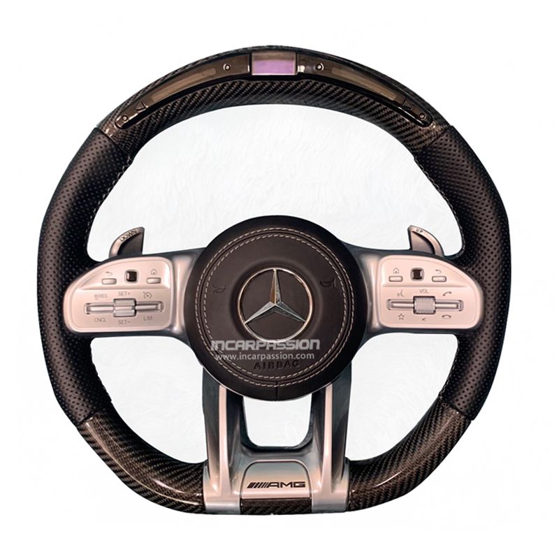 AMG Steering Wheel Upgrading For Mercedes Benz A B C E ML